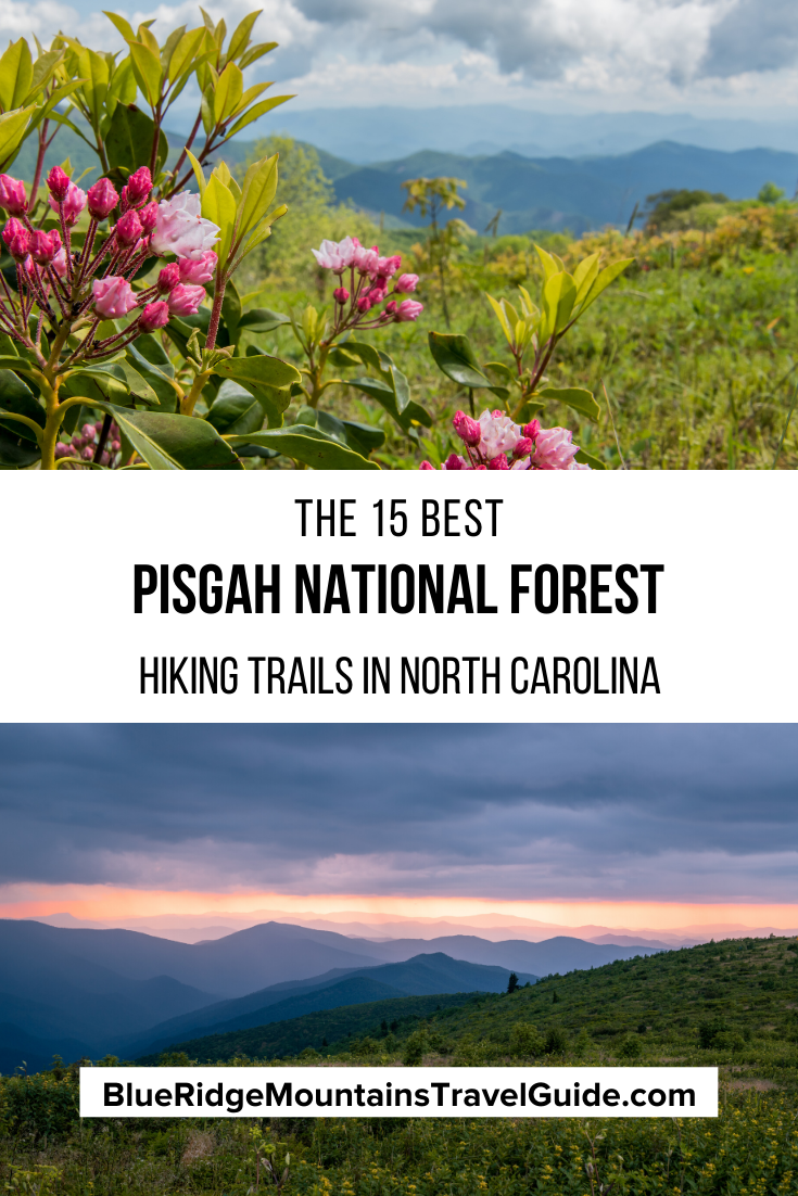 The 15 Best Pisgah National Forest Hiking Trails with beautiful waterfalls and breathtaking panoramas. | pisgah waterfalls | pisgah national forest waterfalls | pisgah national forest hiking | pisgah national forest trails | pisgah hike | best hikes in pisgah national forest | pisgah forest nc | pisgah national forest camping