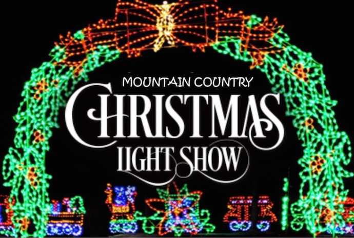 Mountain Country Christmas in Lights in Hiawassee GA