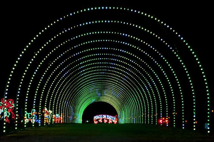 Shadrack's Christmas Light Show