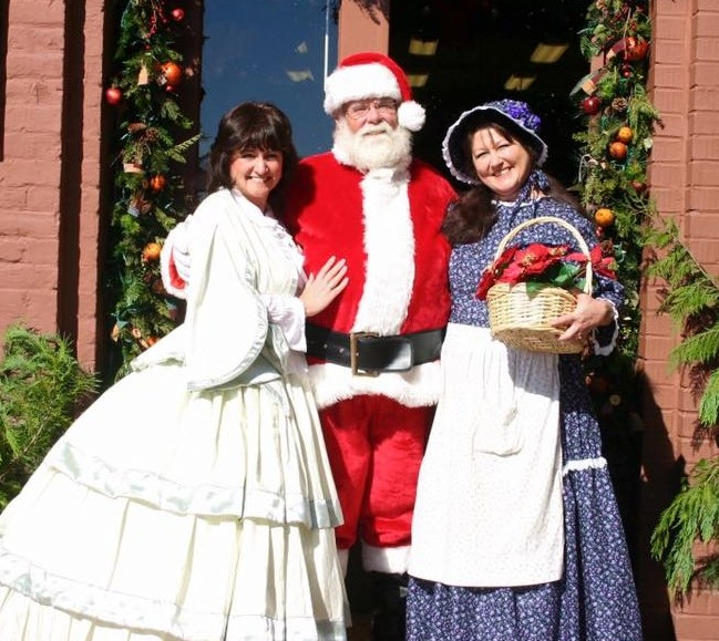 Santa & Belles at Christmas in Dahlonega Celebrations
