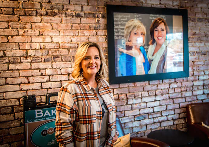Sweet Shoppe of the South Bakery co-owner Susan Kelly Catron