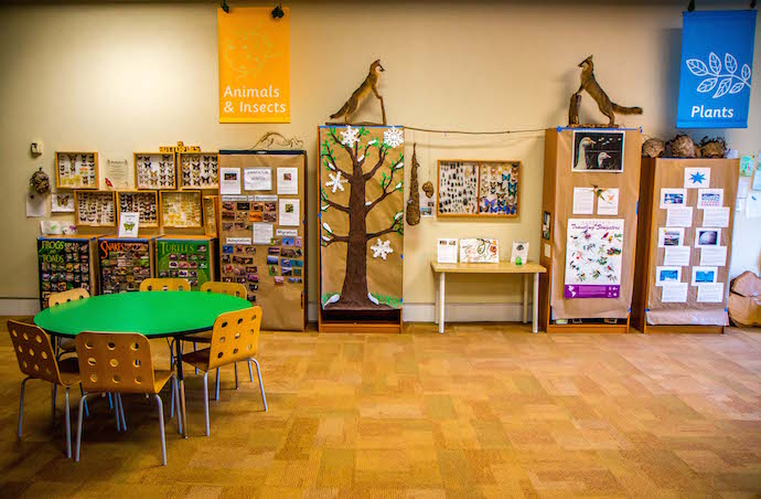 The Discovery Center at the Chattahoochee Nature Center in Roswell GA