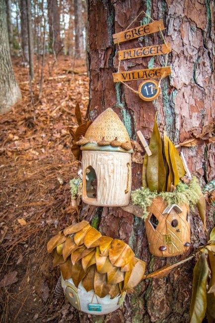 Chattahoochee Nature Center Enchanted Woodland Trail Tree Hugger Village