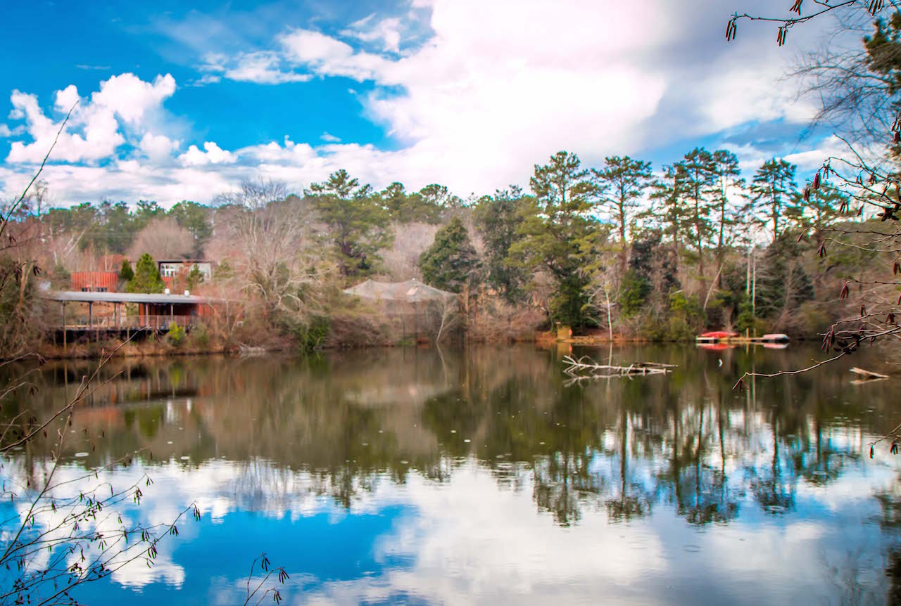 Chattahoochee Nature Center's Kingfisher Pond Reflection