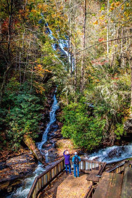 Lower Observation Platform at Dukes Creek Falls