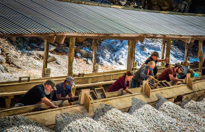Gem Mining & Gold Panning at Emerald Village
