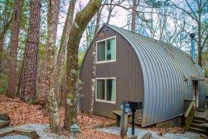 Unicoi State Park Barrel Cabin