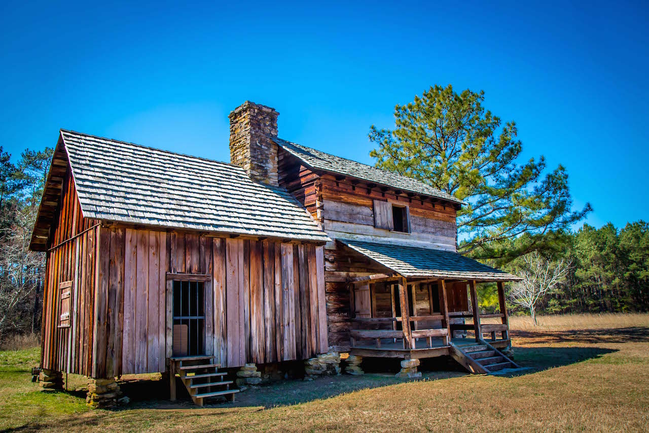 Vann Tavern at New Echota Historic Site in Calhoun GA