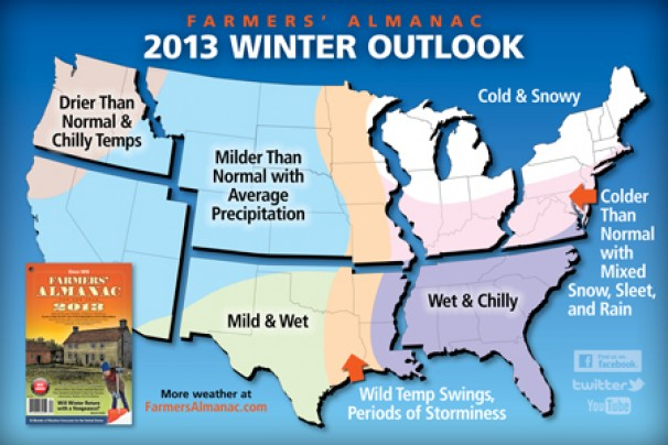 The Farmers Almanac outlook for the upcoming winter: Right, wrong or just guesswork?