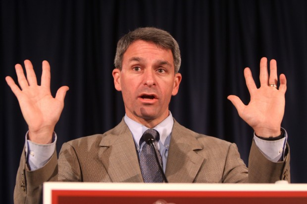 Ken Cuccinelli: 'Hands up and assume the position'