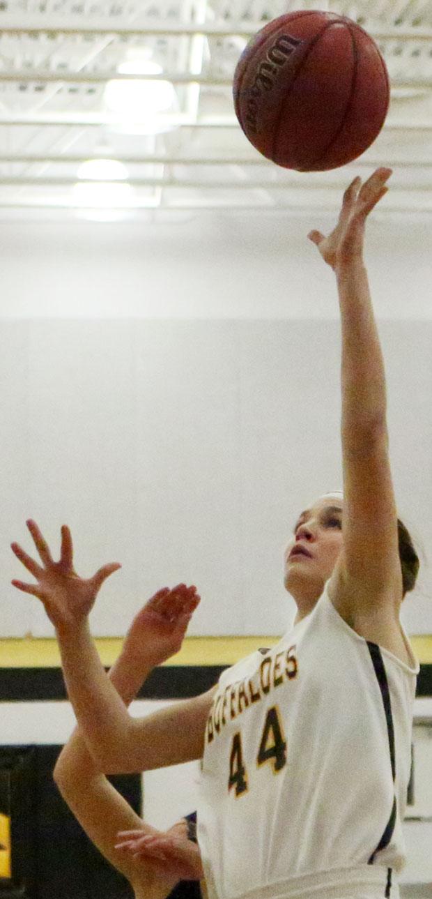 Hannah Belshan: A 20 point night in a Lady Buffs win.