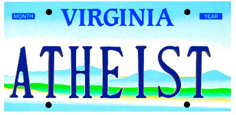 A readout from Virginia's Division of Motor Vehicles web site is one requests this plate.