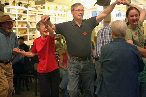 Square Dancing at the Floyd Country Store