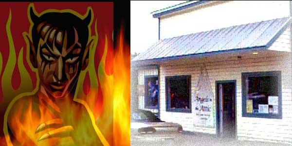 A firestorm in the Attic