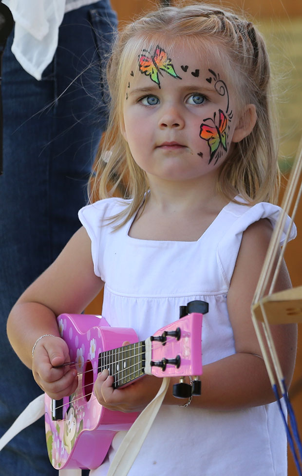 The youngest member of Loose Strings