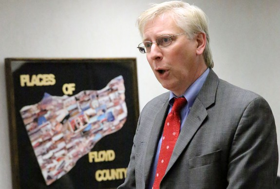 Interim Floyd County Commonwealth's Attorney Eric Branscom