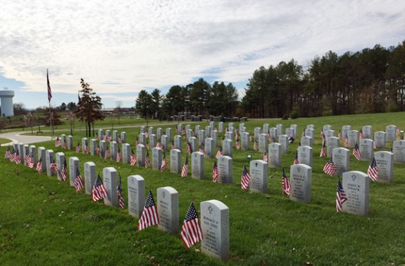 The Southwest Virginia Veterans Cemetery at Dublin.