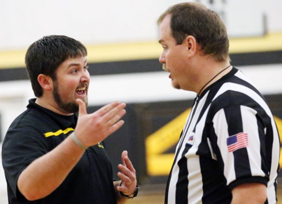 Meeting between boys coach and officials over ejected player.
