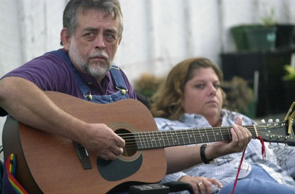 Music in Floyd County -- a long-time tradition.