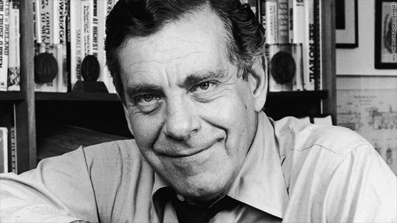 Morley Safer back in the early 1980s.