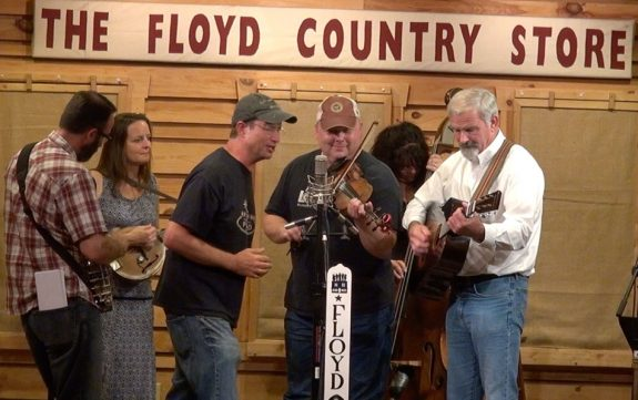 Virginia folklorist Jon Lohman offers his harmonica and voice with The New Ballard's Branch Bogtrotters at The Floyd Radio Show.