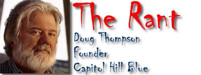 "The logo of my column, originally called ""The Rant"""