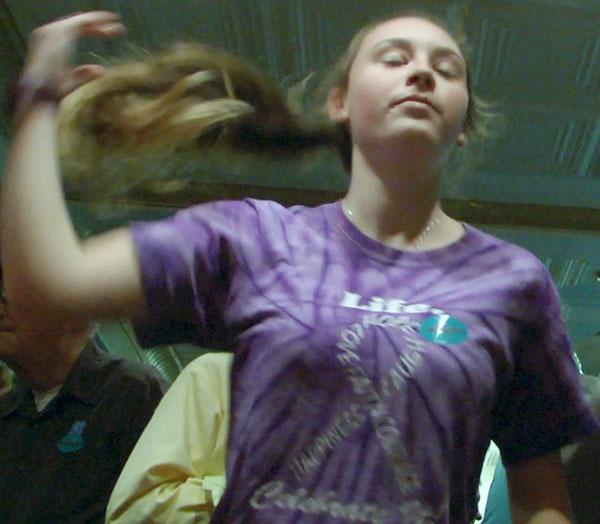 Dancing the night away at The Friday Night Jamboree.