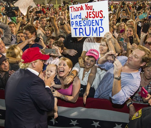 Questions raised about White evangelicals, Trump & racism
