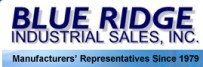 Blue Ridge Industrial Sales, Inc. | Manufacturers' Representatives Since 1979