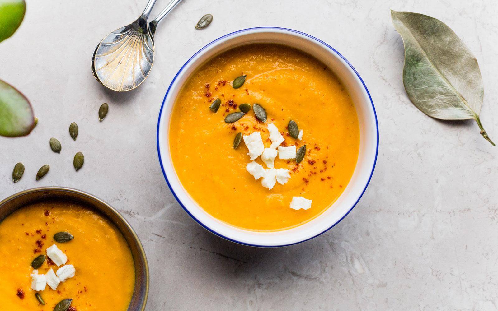 soup vegetarian vegan food yoga retreat chamonix
