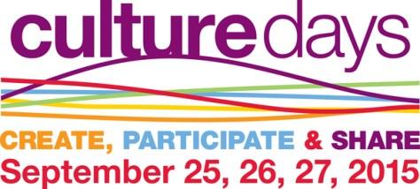 Culture Days, Sept 26-28
