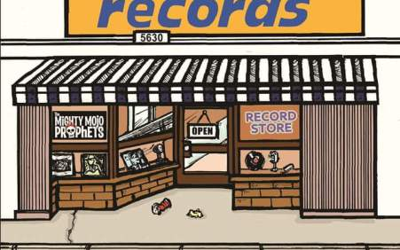 The Mighty Mojo Prophets – 'Record Store'