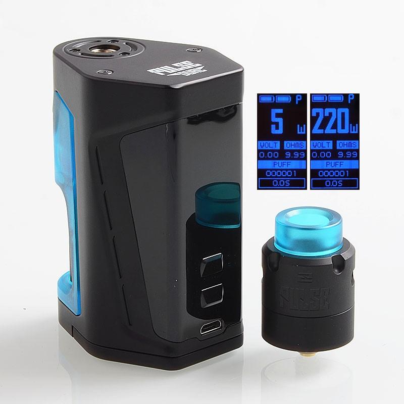 Vandy Vape Pulse Dual Kit with Pulse V2 RDA  ⋆ Blue's Vape