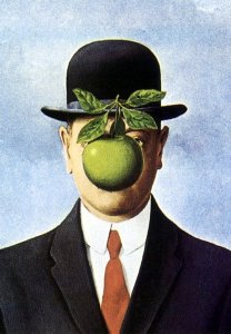 magritte apple picture