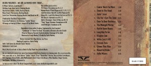The Bells CD Insert and Tracklist
