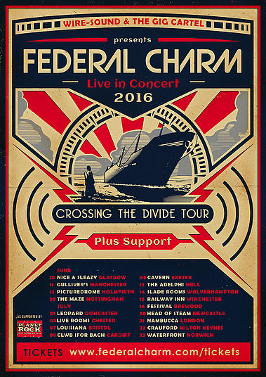 Federal Charm Touring Live Crossing The Divide