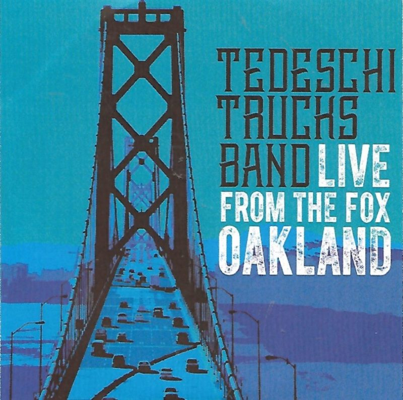 Tedeschi Trucks Band Music Live From Fox Oakland