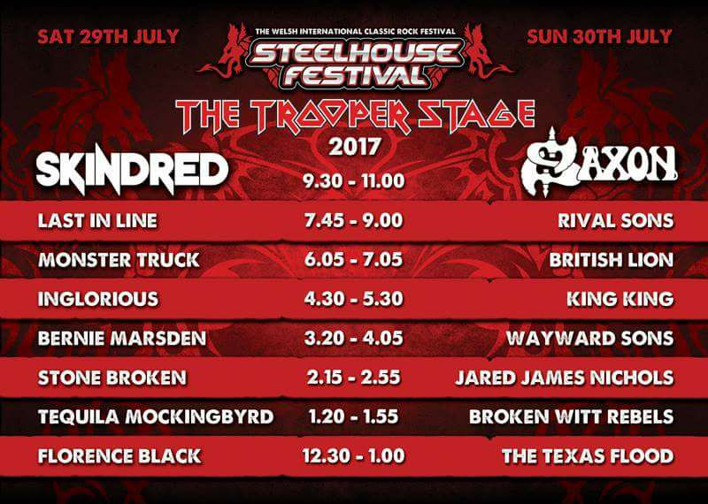 Steelhouse 2017 Simply Marvellous Mud Music and Mates