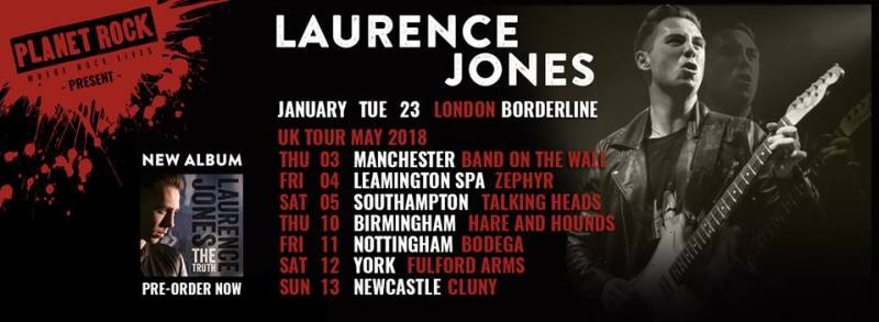 Laurence Jones speaks the truth, the whole truth and nothing but the truth