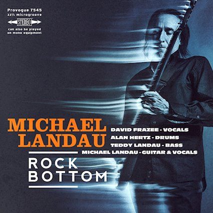 You will Never Hit Rock Bottom With Michael Landau Guitar