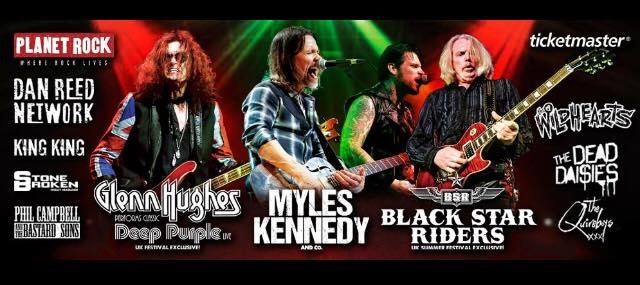 On The Steelhouse Mountain Myles Kennedy Double Headliner with Glenn Hughes