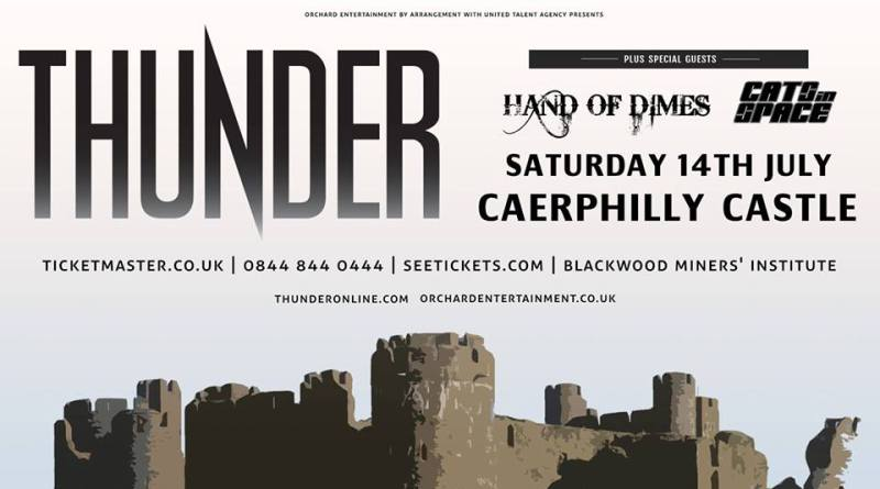 Thunder To Be Heard Over Caerphilly Castle