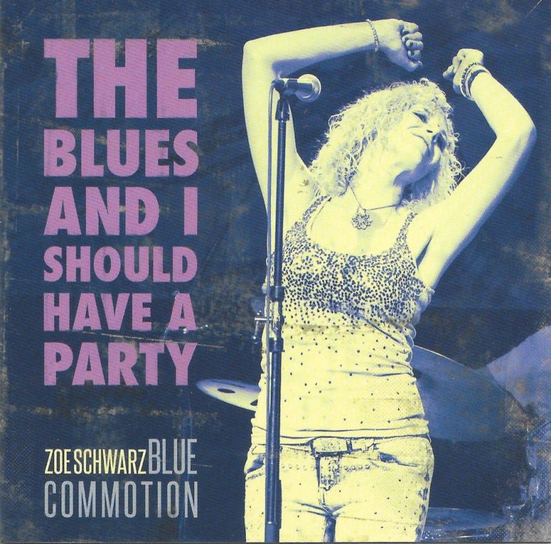 Join the Blues Party with Zoe Schwarz Blue Commotion