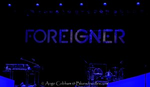 Foreigner captured Playing Live at Apollo Manchester