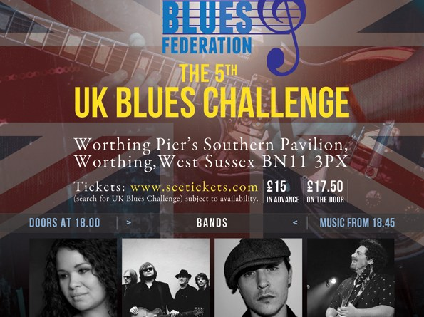 Fifth UKBlues Challenge Counting Down The Days