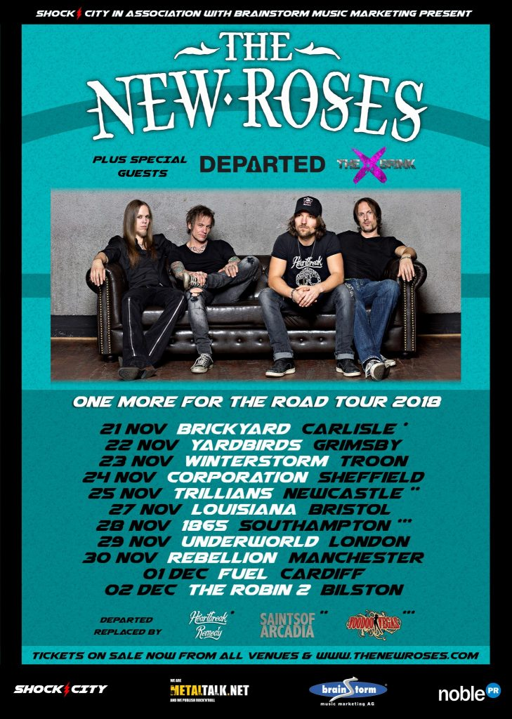 The New Roses Bringing Hard Rock from Germany