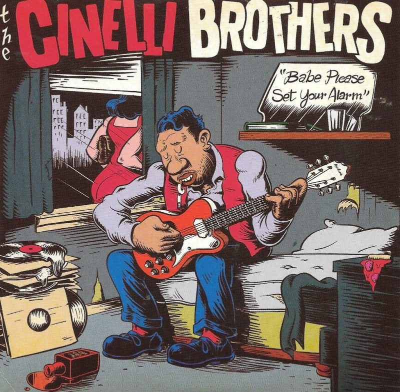 Cinelli Brothers send a wake up call Babe Please Set Your Alarm