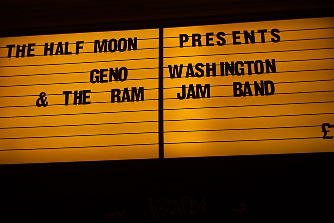 Geno Washington live at the Half Moon in Putney