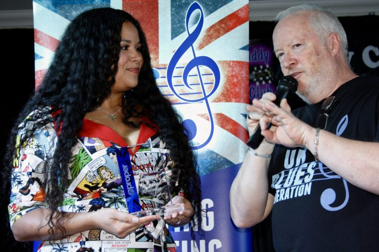 Kyla Brox Journey Representing Blues in the UK Continues