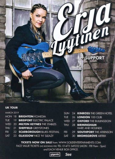 Erja Lyttinen Springing Back Into The UK March 2019